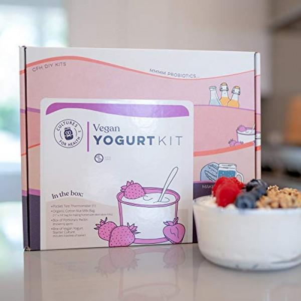 Vegan Yogurt Starter Kit | Cultures for Health | All the supplie...