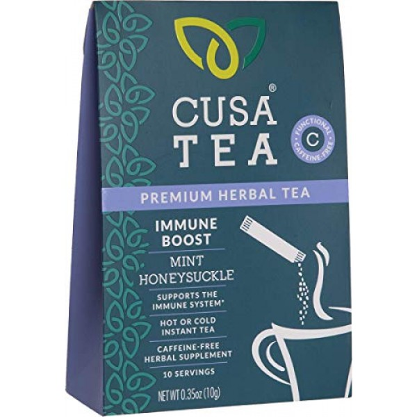 Cusa Tea: Immune Boost Herbal Tea - Immune Support Tea for Cold ...