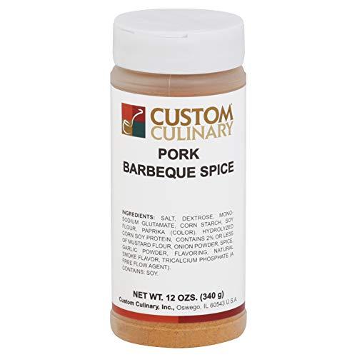 Custom Culinary Red Label Pork Barbecue Spice - 12 oz. jar, 12 p...