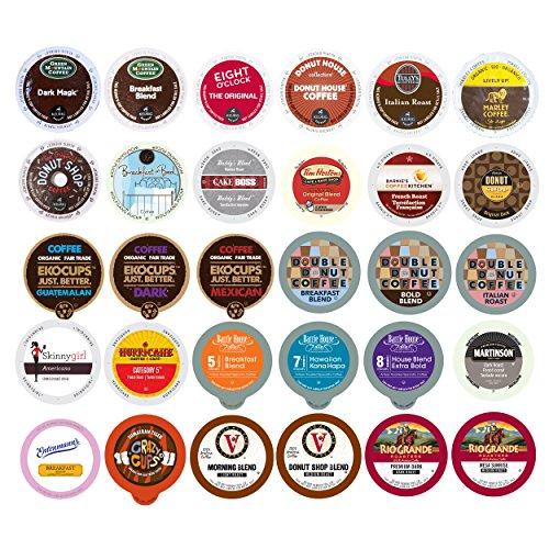 30-count Coffee Single Serve Cups for Keurig K-Cup Brewers Varie...