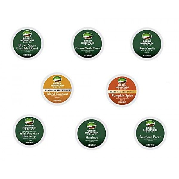 40 Count - Green Mountain Flavored Coffee K-Cup For Keurig K Cup...