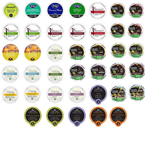 40-count TEA Single Serve Cups for Keurig K Cup Brewers Variety ...