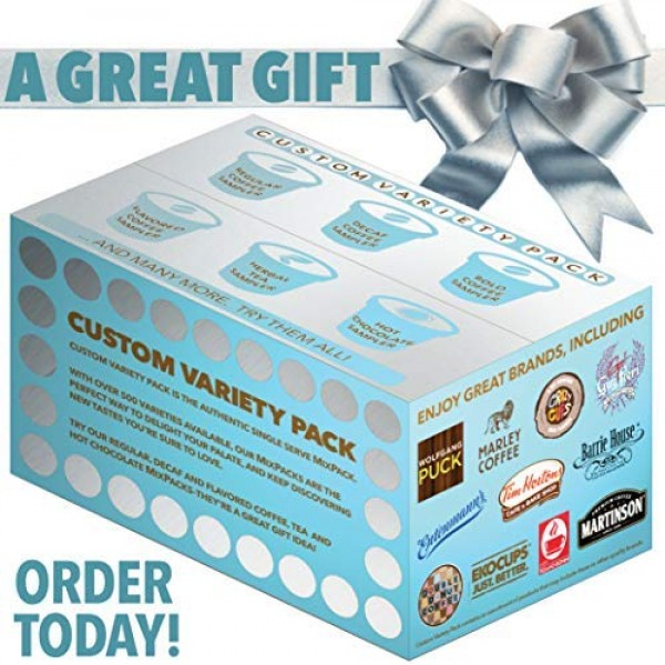 Decaf Flavored Coffee Variety Pack, Great Mix of Decaffeinated C...