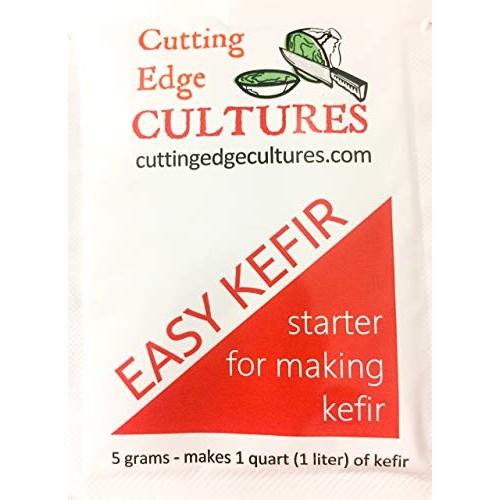 Cutting Edge Cultures Easy Kefir Starter Culture, 1 Packet, 5g, ...