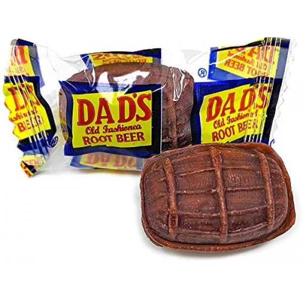 Washburn Dads Wrapped Root Beer Barrels, 2.5Lb