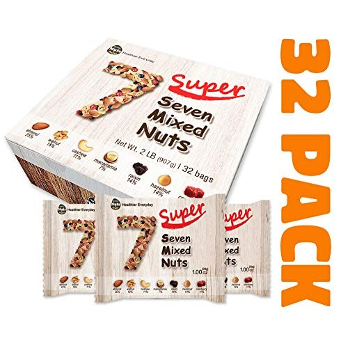 Daily Nuts Healthy Mix Super Seven Mix, 32 Pack