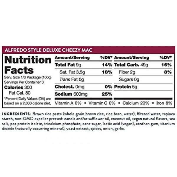 Daiya Cheezy Mac Variety Pack :: 3 Flavors - Cheddar, Bacn Ched...
