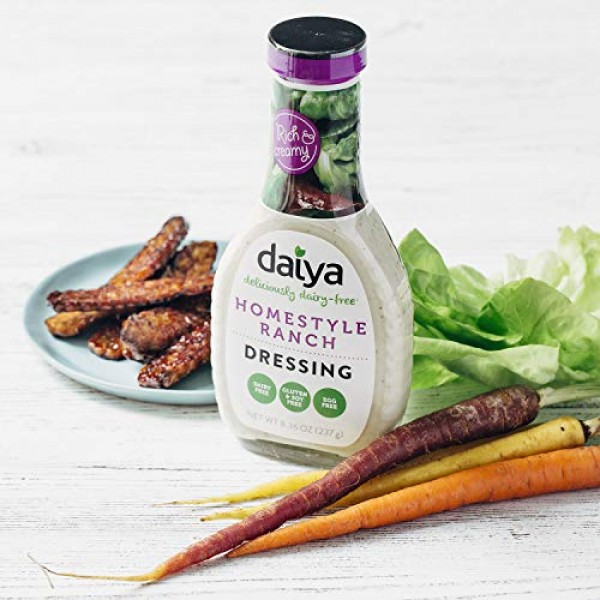 Daiya Homestyle Ranch Dressing, Dairy Free, 8.36 oz
