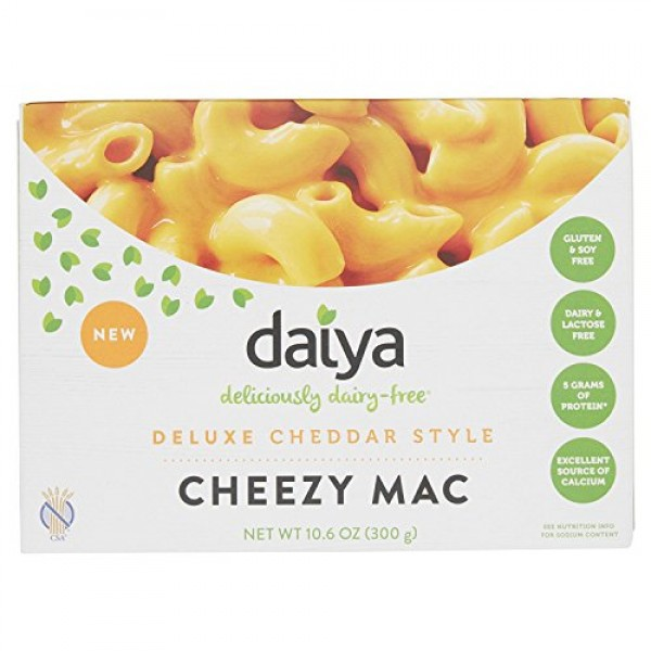PACK OF 7 - Daiya Deluxe Cheddar Style Cheezy Mac, 10.6 oz