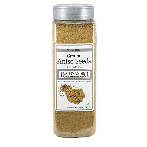 Anise Seed, Ground - 16 Oz Jar Each