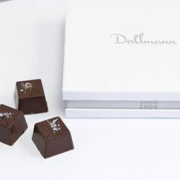 Dallmann Confections Dark Sea Salt Caramel Truffles 9 Piece- F...