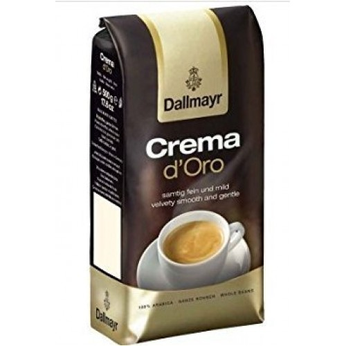 Dallmayr Crema Doro Whole Beans Coffee 2 Packs X 17.6oz/500g