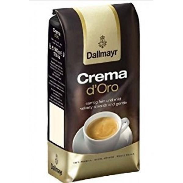 Dallmayr Crema Doro Whole Beans Coffee 2 Packs X 17.6oz/500g