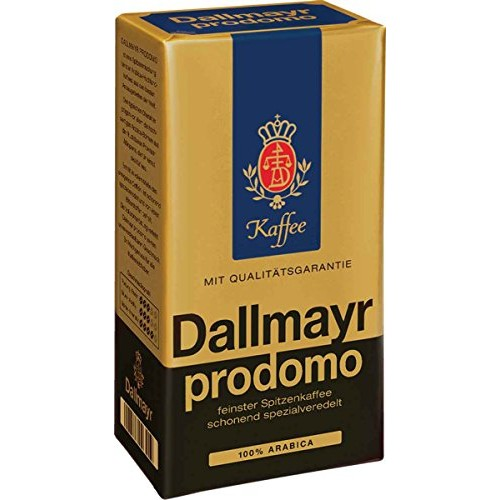 Dallmayr Prodomo Ground Coffee, 17.6 Ouce Pack of 2