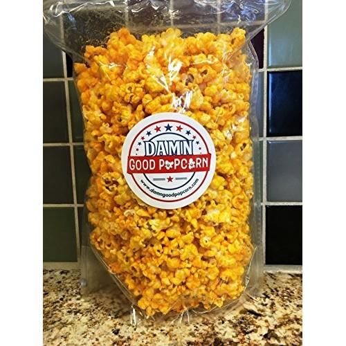 Damn Good Popcorns Gourmet Cheddar Cheesy Popcorn 8 oz Bag