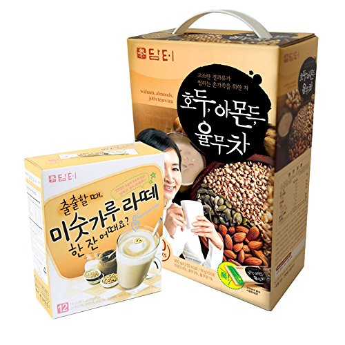 DAMTUH Breakfast Meal Replacement Energy Drink Set, Walnut Almon...