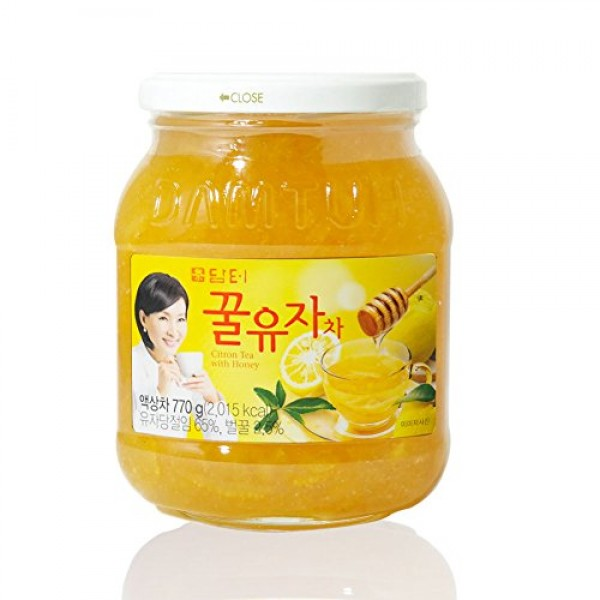 DAMTUH Honey Citron Tea, Citron Tea with Honey, 1 Bottle 27.16 O...