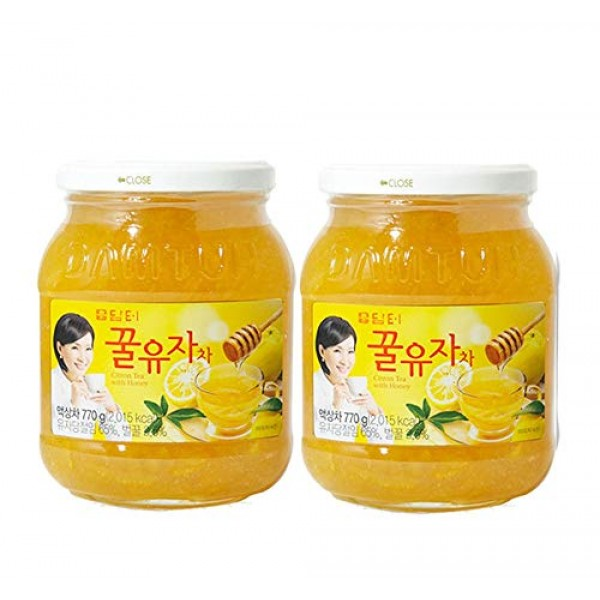 DAMTUH Korean Honey Citron Tea, Citron Tea with Honey, 27.16 Oz ...