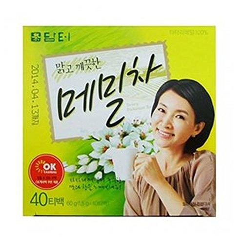 DAMTUH Korean Traditional Tartary Buckwheat Tea, 40tb