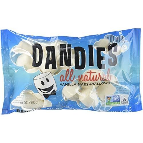 Dandies, Vegan Marshmallows, Vanilla, 10 oz