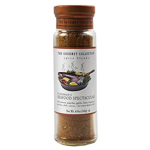 The Gourmet Collection Spice Blends, Fishermans Seafood Spectac...