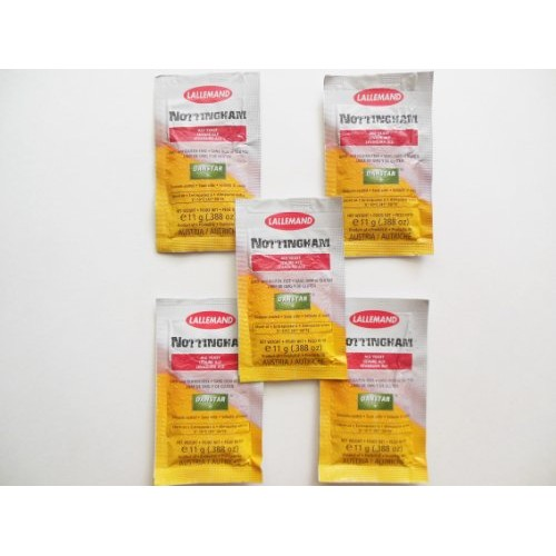 Danstar Lallemand Nottingham Ale Yeast - 5 PACKETS