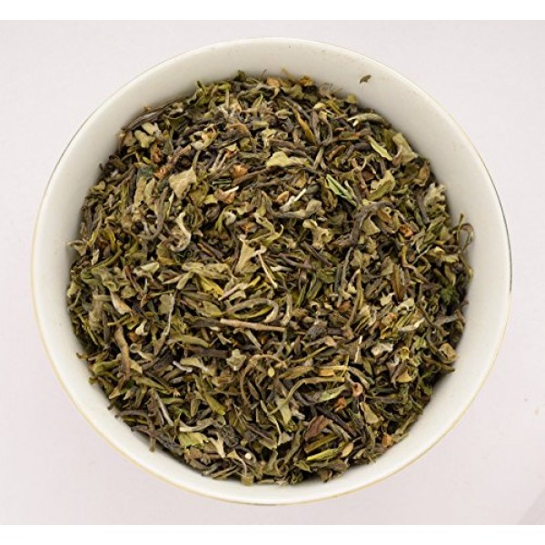 Indian Tulsi Holy Basil Organic Green Tea, 100gm 3.52oz Herb...