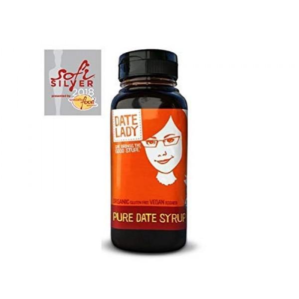 Award Winning Organic Date Syrup 3 lb Squeeze Bottle   1 ingredi...