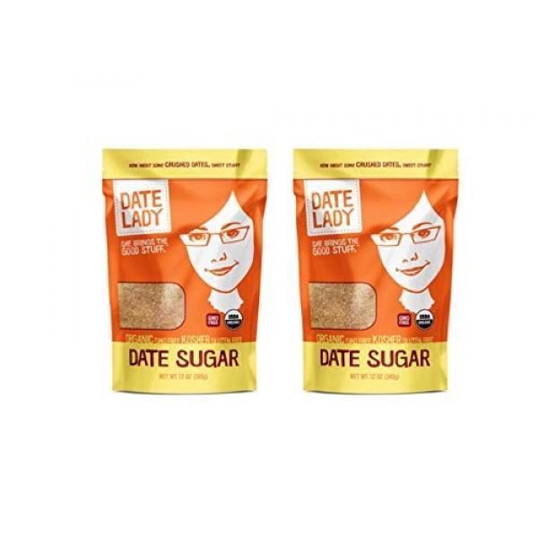 Organic Date Sugar, 1.5 lb | 100% Whole Food | Vegan, Paleo, Glu...