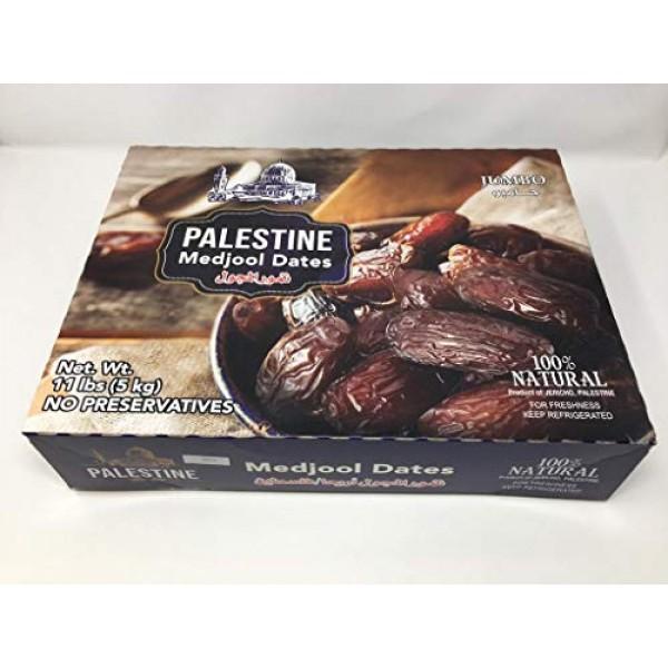 PALESTINE Medjool Dates: 5Kg 11 lb Pack purple
