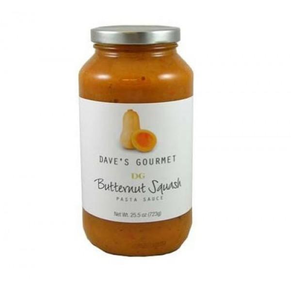 Daves Gourmet Butternut Squash Pasta Sauce, 25.5-Ounce Bottles ...