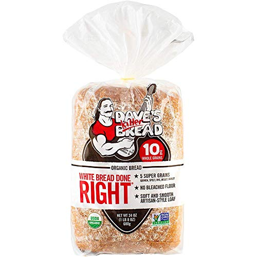Dave's Killer Bread Organic White Bread Done Right - 24 oz Loaf