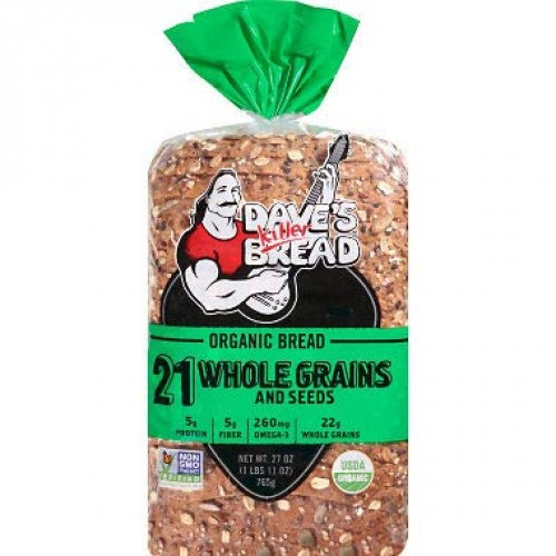 Daves Killer Bread 21 Whole Grains And Seeds Organic Bread 27 o...