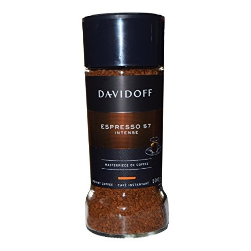 Davidoff Cafe Espresso 57 Instant Coffee, 3.5-Ounce Jars Pack o...