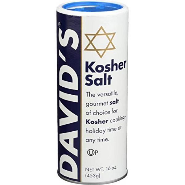 DAVIDS Salt Kosher, 16 OZ