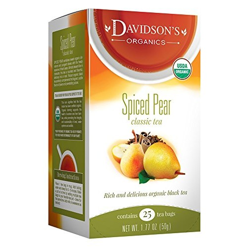 Davidsons Tea Spiced Pear, 25 Count Tea Bag