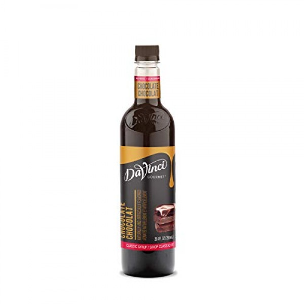 DaVinci Gourmet Classic Syrup, Chocolate, 25.4 Ounce Pack of 3