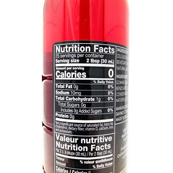 DaVinci Gourmet Sugar Free Cherry Syrup, 750 mL Plastic Bottle