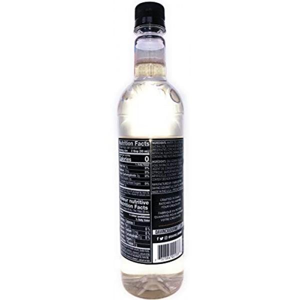 DaVinci Gourmet Sugar Free Macadamia Nut Syrup, 750 mL Plastic B...