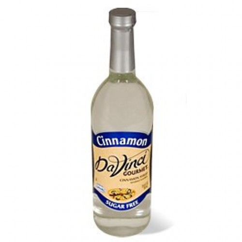 Da Vinci Sugar Free Cinnamon Syrup with Splenda 750 ml Bottle