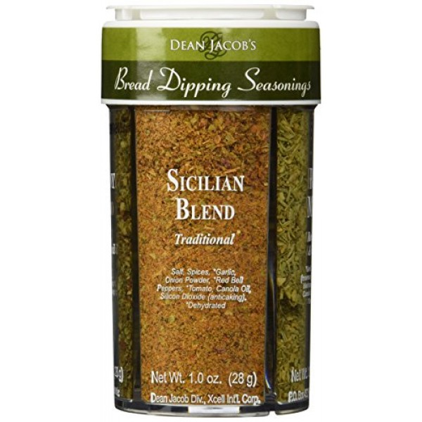 Bread Dipping Seasonings - Dean Jacobs 4 Spice Variety Pack