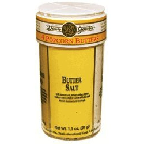 Dean Jacobs 4in1 Popcorn Butters and Theatre Salt ~ 5.7 oz.
