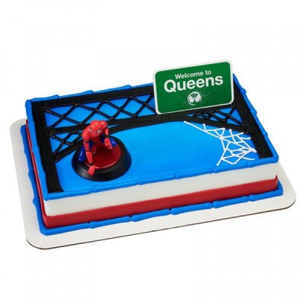 A1 BakerySupplies Spider-Man Homecoming Welcome to Queens Cake D...