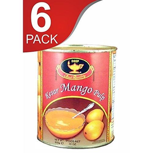 Deep kesar mango pulp 6 cans