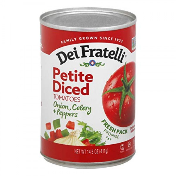 Dei Fratelli Petite Diced Tomatoes with Onion, Celery & Peppers ...