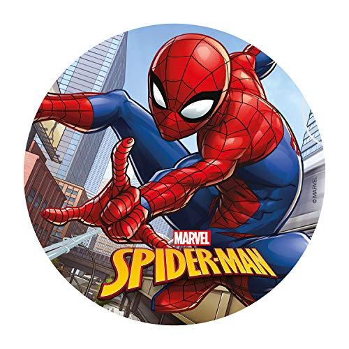 Spiderman Edible Image Cake Topper Wafer Disc 8