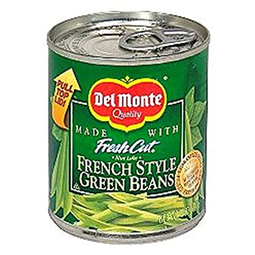 Del Monte French Style Green Beans, 8-Ounce Pack of 12