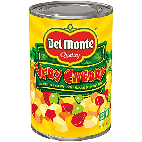 Del Monte Canned Very Cherry Mixed Fruit in Natural Cherry Flavo...