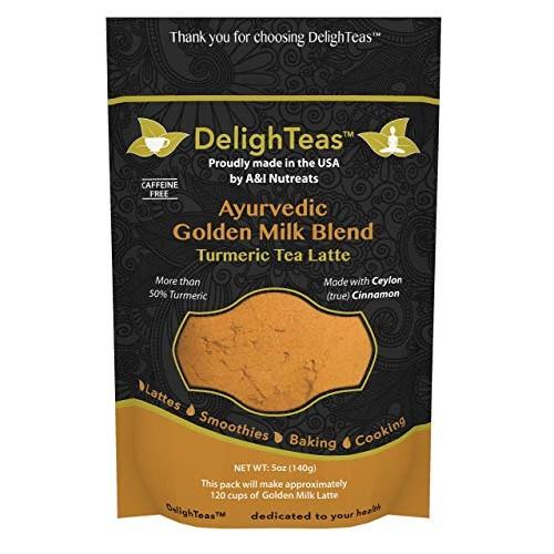 Ayurvedic Organic Golden Milk blend; No added sugar or sweetener...