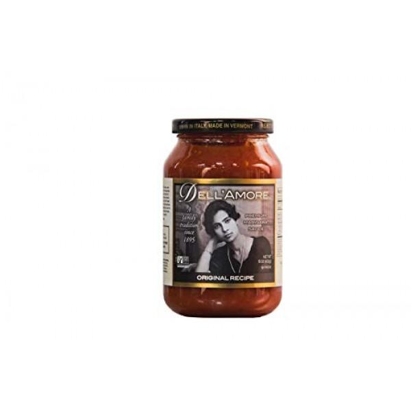 DellAmore Premium Marinara Sauce - Original Recipe 16oz / 12pk...